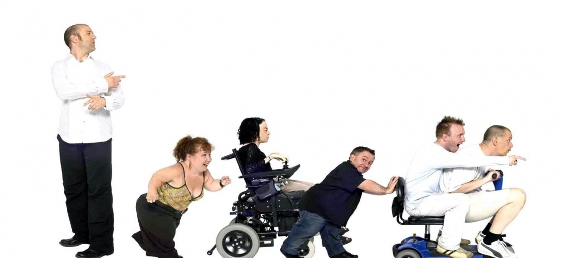 six disabled performers