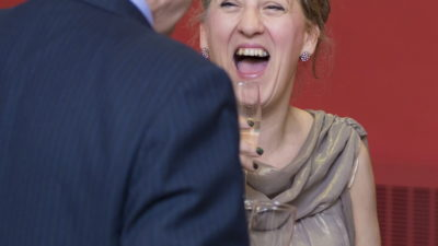 Jo Verrent laughing