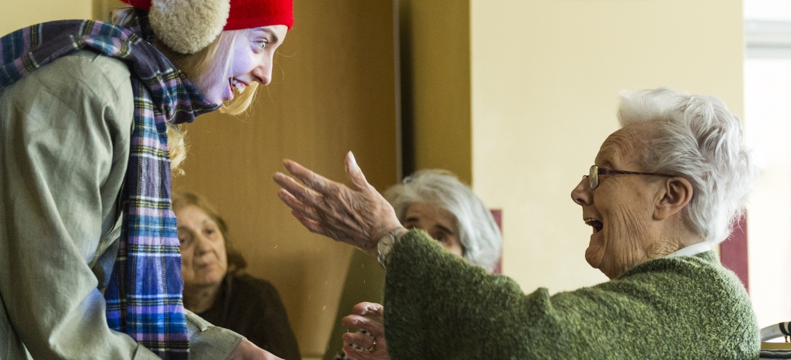 <p>The Garden - performance for people with dementia.</p>