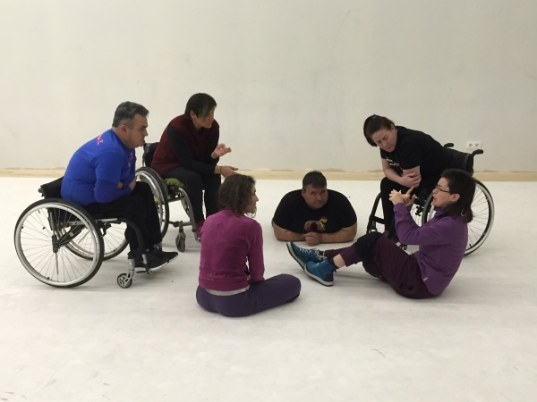 Discussions about choreographic process in Barcelona