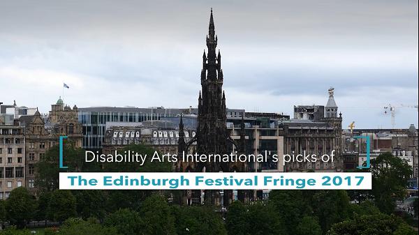 A shot of Edinburgh's cityline, taken from a high vantage point